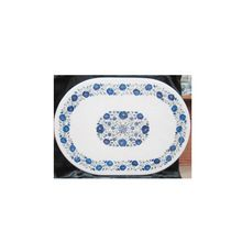 Oval Shape Marble Inlay Table Top