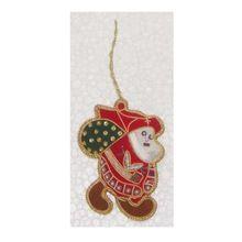 Santa Shape Christmas Ornament