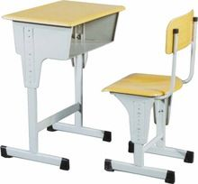 School Furniture Double Seater Desk And Chair
