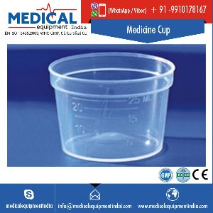 Transparent Plastic Medicine Measuring Cup