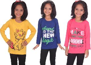 Girls Full Sleeve T-Shirts 01
