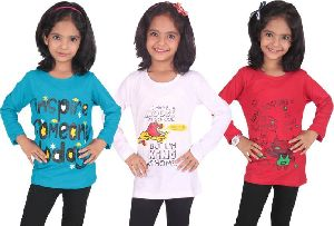 Girls Full Sleeve T-Shirts 02