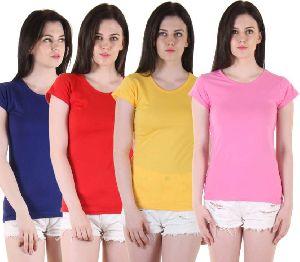 Ladies Half Sleeve Top 04