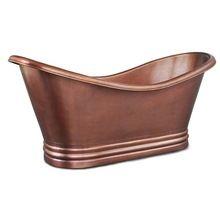 Antique Copper Patina Slipper Bath Tub