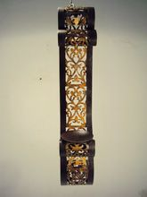 Wrought Iron Wall Pillar Candle Holders