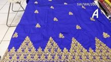 African George Wrapper Saree