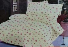 Cotton Percale Printed Bed Sheet