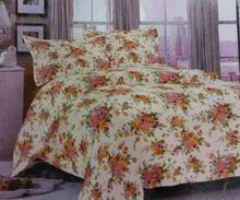 Cotton Stripe Hotel Bed Sheet Set