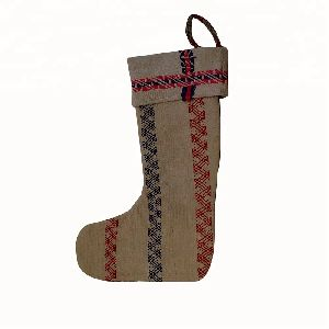 Christmas Kantha Stocking