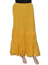 Cotton Bandhej Long Skirt