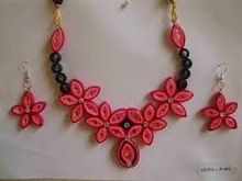 Paper Made Natural Attractive Designed Fashion Jewelry