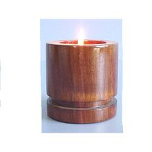 Wooden Candle Cup