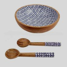 Wooden Material Salad Bowl