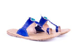 Traditional Blue Ladies Slippers