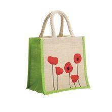 Natural Eco Friendly Small Jute Shopping Bag