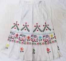 Bohemian Gypsy Ethnic Tribal Cotton Long Skirt