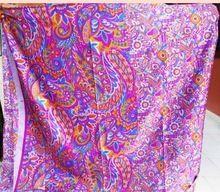 Printed Vintage Pure Silk Saree