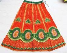 Vintage Cotton Casual Wear Banjara Long Skirt
