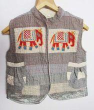 Vintage Handmade Patch Work Embroidered Banjara Jacket