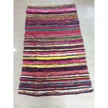 Vintage Recycled Cotton Sari Handmade Rug