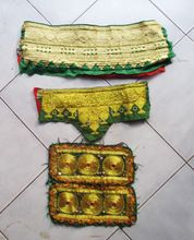 Vintage Tribal Gypsy Embroidered Banjara Afghani Patch