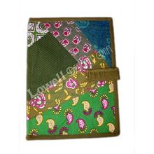 Cotton Fabric File Folder