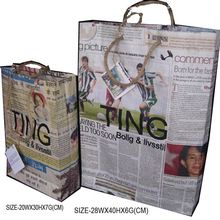 Recycle Newspaper Eco-friendly Bag