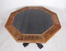 Iron Wooden Poker Table Top