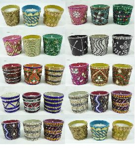 Lac Crafted Candle Votives