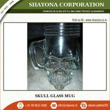 Bulk Skull Glass Coffee Mug