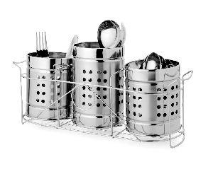 Stainless Steel Cutlery Chopstick Holder