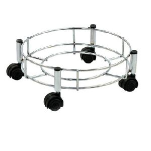 Stainless Steel Oxygen Cylinder Trolley
