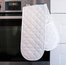 Embroidered Oven Mitts
