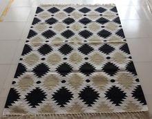Cotton Kilim Handmade Dhurrie Rug
