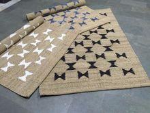 Customised Jute Hemp Flatweave Rugs
