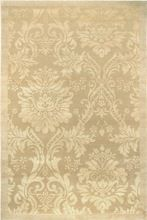 Hand Knotted Wool Silk Carpet
