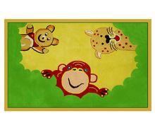 Play Cartoon Wool Hand Tufted Rugs