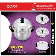 Stainless Steel Idly Pot