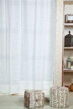 Cotton Applique Cut Work Curtain
