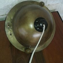 Antique Brass Finish Round Celling Lamp