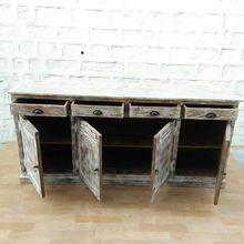 Antique Look Industrial Cabinet