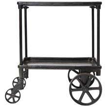 Industrial Cast Iron Serving Trolley