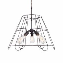 Natural Lampshade Industrial Pendant Hanging Light