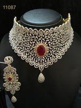 American Diamond African Jewelry