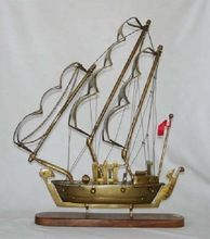 Brass Decorative Ship Model