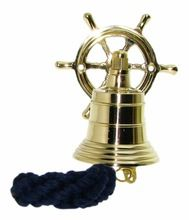 Wheel Brass Ship Bell