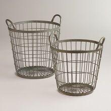Metal Wire Iron Fruit Basket