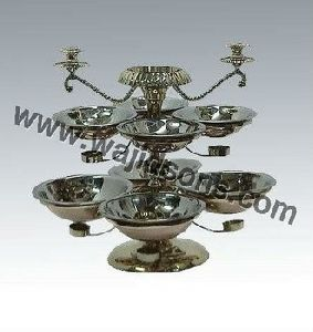 Karahi Stand With Copper Bowls
