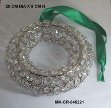 Crystal Diamond Christmas Hanging Wreath