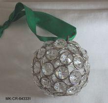 Crystal Diamond Christmas Ornament Ball